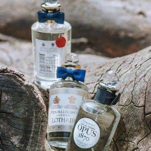 低至5折+满£120赠10支香水大礼包半年一度:Penhaligon's官网香水热卖中 英伦小众够逼格