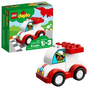 Lego得宝系列 第一辆小赛车10860
