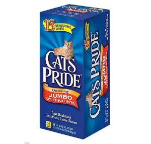 Cat's Pride Jumbo Litter Box Liners, 15-count - Chewy.com