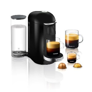 Vertuo Plus 咖啡机 黑色 圆顶