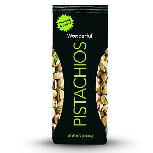 $4.74Wonderful Pistachios, Roasted and Salted, 16 Ounce Bag