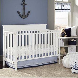 史低价 $179.99(原价$238.99)从小睡到大~Graco  Lauren 多功能婴儿床