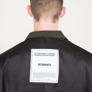 低至5折+额外9折 $40+收潮牌体恤Vetements, Maje 等精选热门品牌美衣热卖