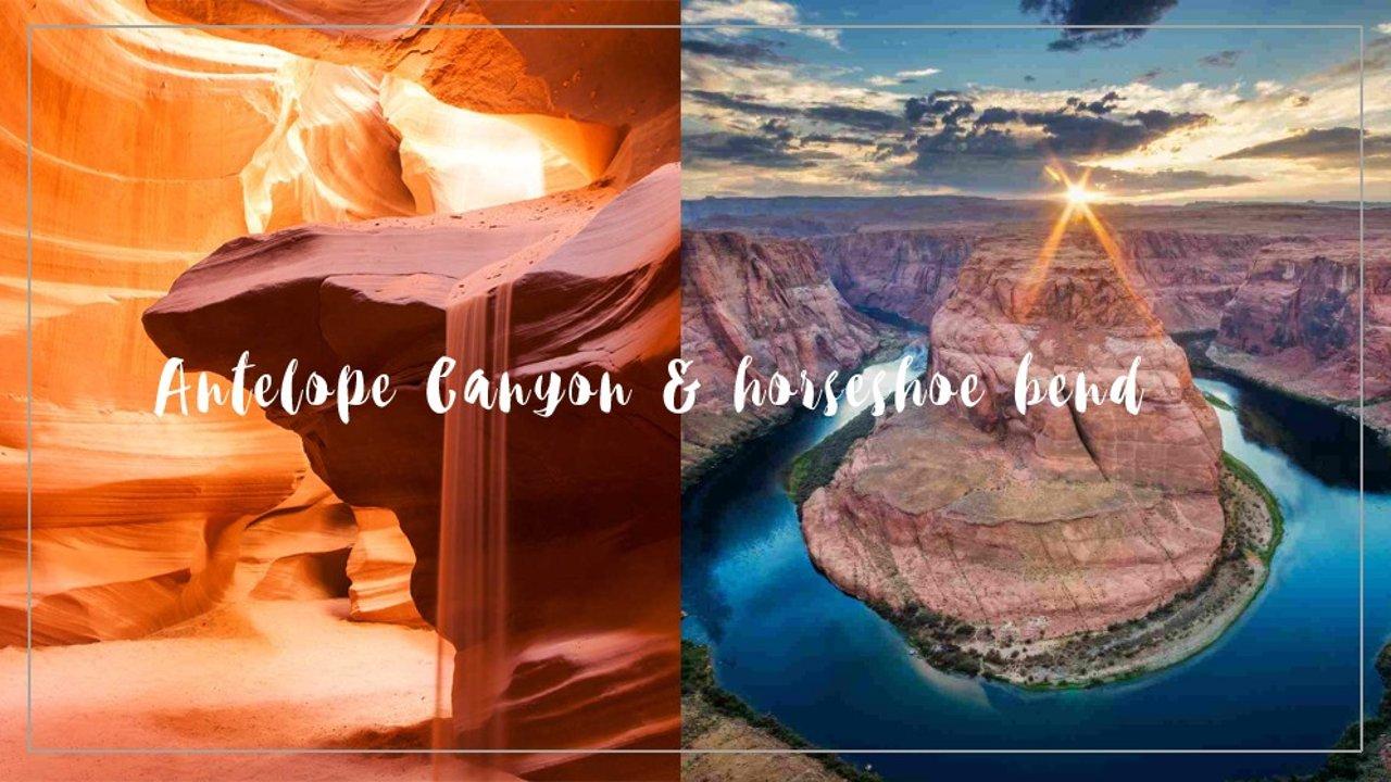 随手出大片 | 羚羊谷 Antelope Canyon & 马蹄湾 Horseshoe Bend 一日游指南!