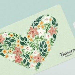 Free $10 Bonus CardPanera Bread Gift Cards