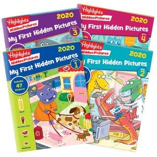 $24.98 (原价$27.80)2020版 Highlights Hidden Pictures 考眼力图书4册 畅销多年