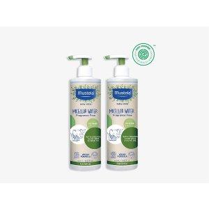 Mustela有机橄榄+芦荟系列清洁水套装