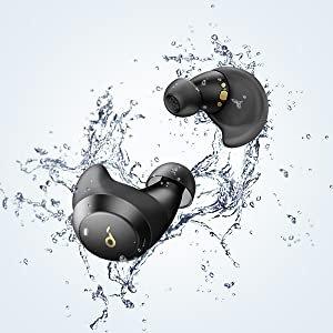折后€49.99 支持快速充电Anker Soundcore Spirit Dot 2 无线蓝牙耳塞 超沉低音 防水防汗
