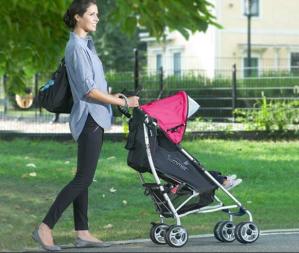 销量冠军 $85.97(原价$119.99)Summer Infant 3D lite 轻便童车,红/灰色