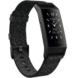$119.95 包邮Fitbit Charge 4 运动手环, 智能健康追踪必备