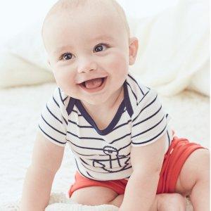 5折封顶 经典美式装扮Carter's官网 儿童红白蓝服饰纪念日热卖,上市来最低