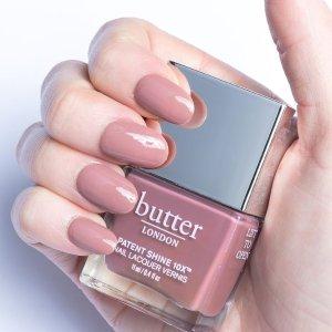 买1送1 正装指甲油低至$6Butter London 彩妆指甲油超值热卖 收柔美莫兰迪色系