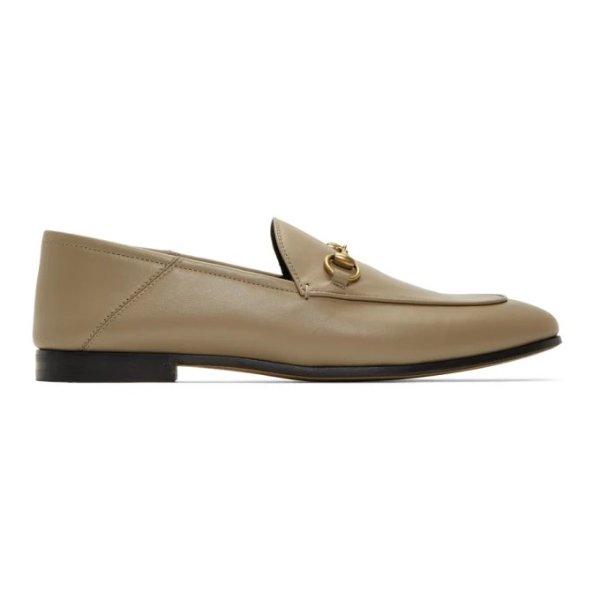 奶茶色乐福鞋
