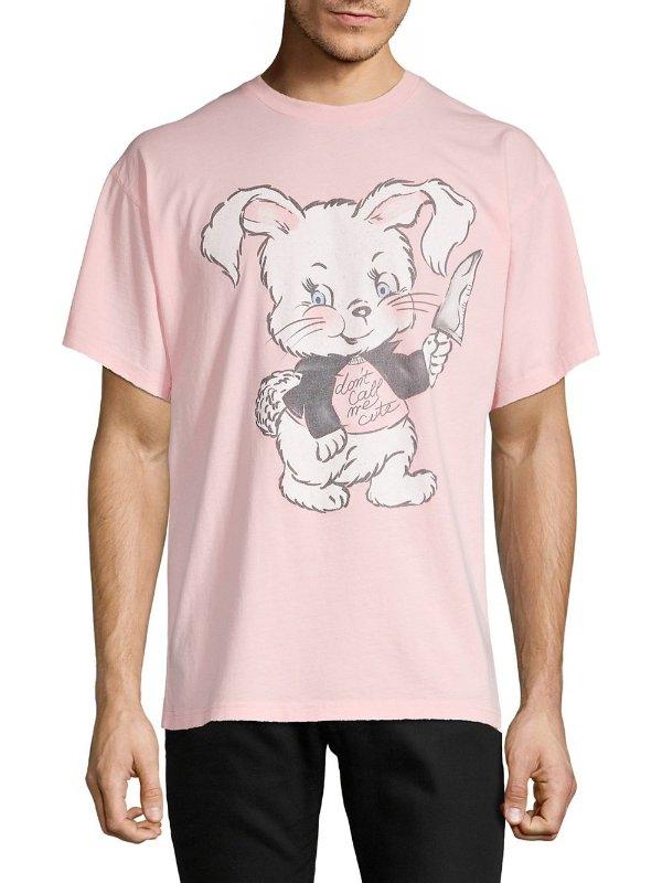 - Graphic 兔子T恤