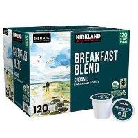 Kirkland K-cup 轻度烘焙咖啡 120颗装