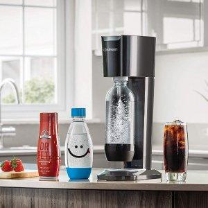 Sodastream 气泡水机闪促 宅家体验碳酸口感 每天都要打打气