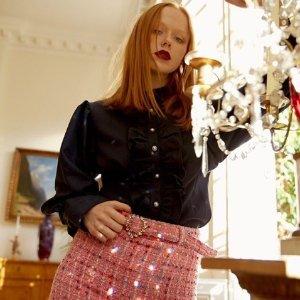 正价8折 小众品牌不撞衫Sister Jane官网 精选春夏上衣热卖 英伦淑女风就是现在