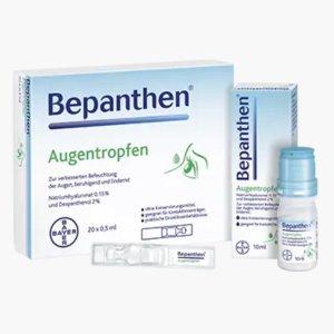 新用户注册9折Bepanthen 滴眼液两盒套装特价€17.05