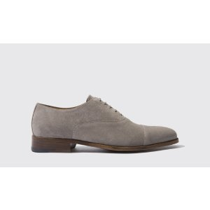 Men's Taupe Oxfords - Giove | Scarosso
