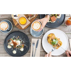 grouponAll-Day Breakfast or Lunch + Small Coffee