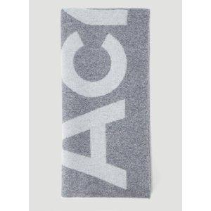 Acne Studioslogo围巾