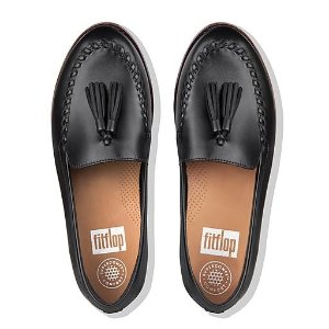 FitFlop气垫软底,真皮透气Moccasin 超舒适乐福鞋