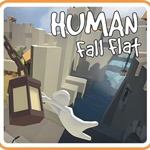 $7.49(原价$14.99)《人类一败涂地》Switch 数字版 多人游玩 搞笑动作解谜游戏