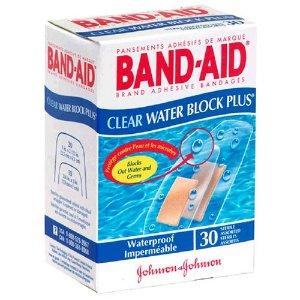 $2.98Band-Aid 透明防水创可贴30片