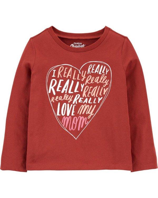 女小童T恤