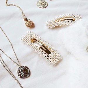 低至5折 珍珠发夹$15Witchery 宝藏饰品热促 线条极简风、珍珠复古风全get