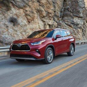 全新TNGA平台 油耗直降17%2020 Toyota Highlander 丰田汉兰达 新版换代