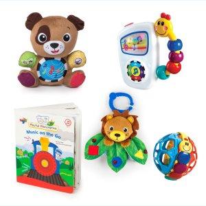 再降 $20折扣升级:Baby Einstein 婴儿音乐玩具5件礼盒套装