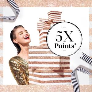 新人9折 + 送Mini口红Click Frenzy:Sephora 会员限时5倍积分 彩妆、套装上新