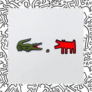小鳄鱼X贱萌小人? 有趣的灵魂万里挑一新品上市:Lacoste x Keith Haring 合作款开卖