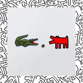 低至5折 小鳄鱼X贱萌小人Lacoste x Keith Haring 合作款降价热卖