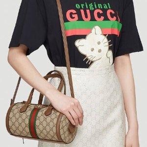 变相6.7折 满额立减€500独家:Gucci 全线惊喜打折 酒神包、小白鞋、老花围巾等好货很多