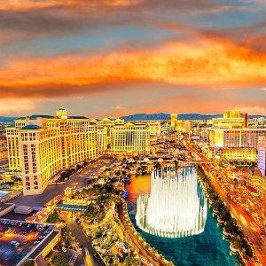 Las Vegas Strip Tour on Helicopter