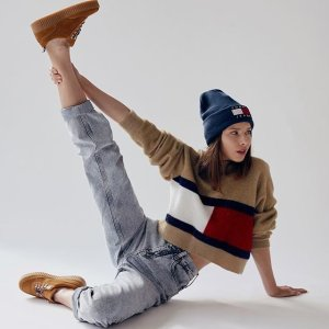 低至5折+免邮Tommy Hilfiger 时尚热卖,复古风潮来袭