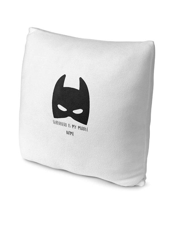 Superhero 抓绒靠垫套
