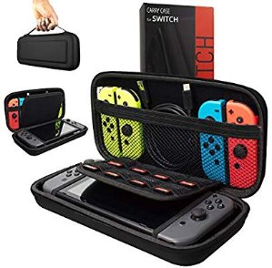Orzly Carry Case Compatible With Nintendo Switch