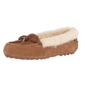 现价$49.98 (原价$74.99) 驼色UGG 女士豆豆鞋、平底鞋热卖