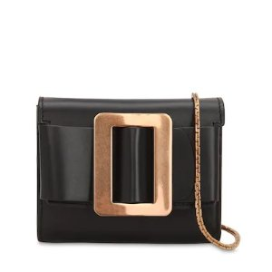 BoyyMINI SQUARE BUCKLE LEATHER CHAIN WALLET
