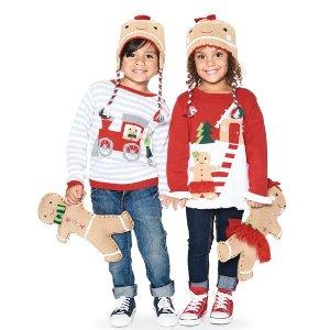 低至2折$8.4起包邮精选Burberry、北面、Ralph Lauren等名牌童装促销款额外7-8折