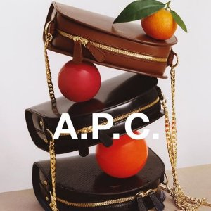 独家7.5折 $171收托特包A.P.C极简美包 经典半月包、Logo托特包热卖