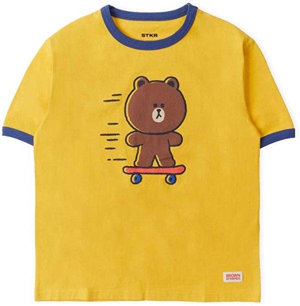 布朗熊 T恤