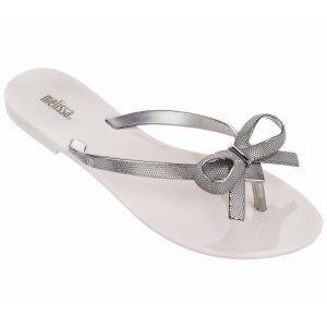 Melissa 蝴蝶结拖鞋