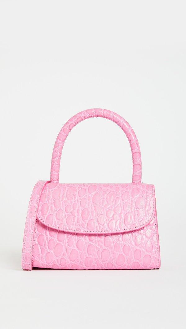 粉色mini斜挎包
