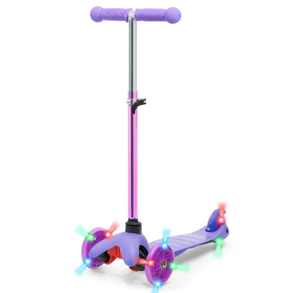 紫色滑板车