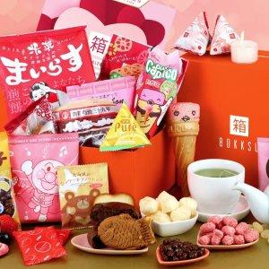 每月20-25包Bokksu 经典零食1个月