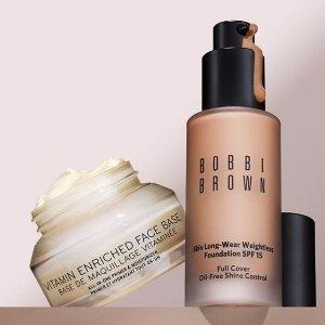 满$50送自选2件套Bobbi Brown 彩妆、护肤热卖 收清透持妆粉底液